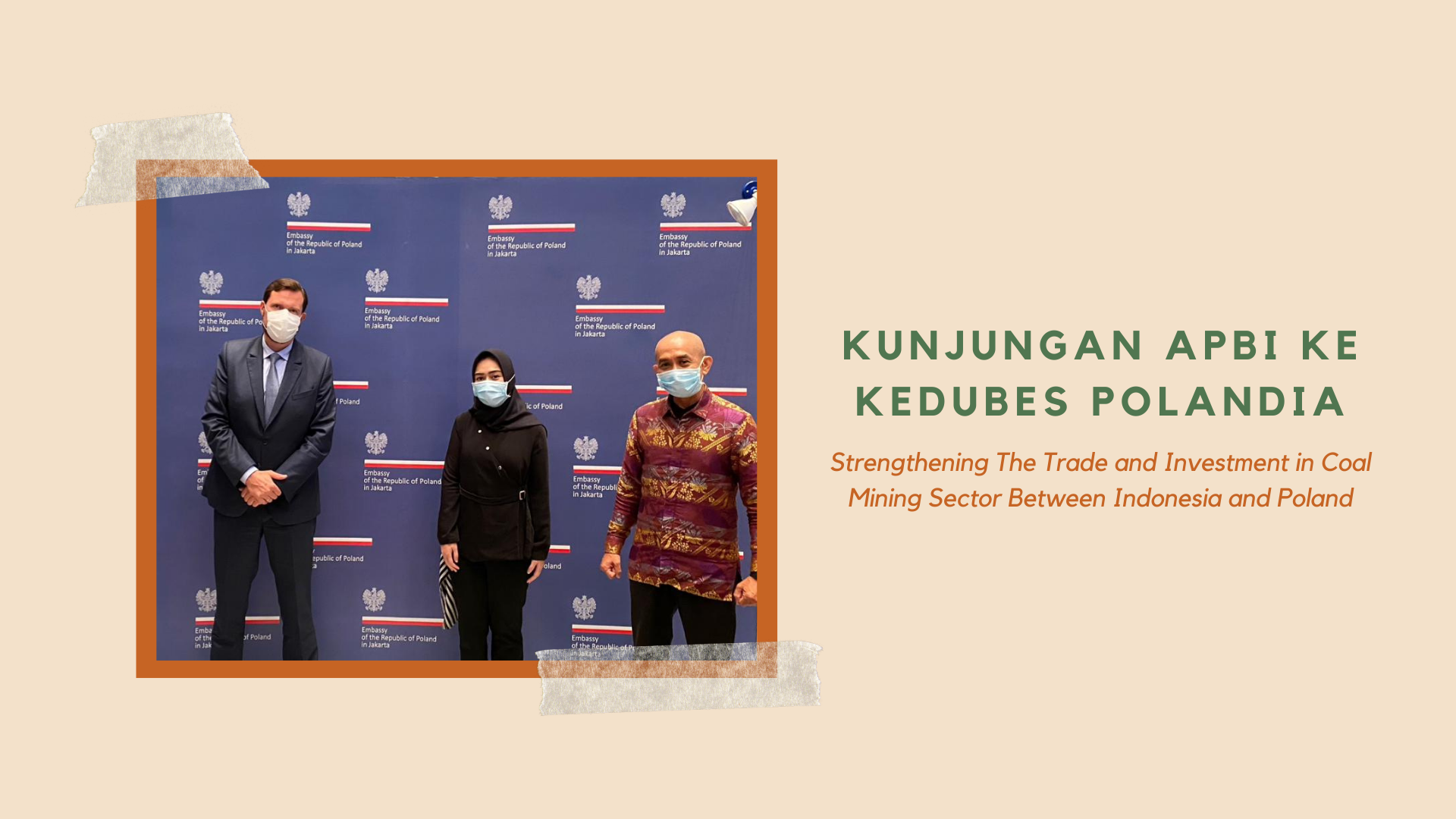 Strengthening The Trade and Investment in Coal Mining Sector Between Indonesia and Poland